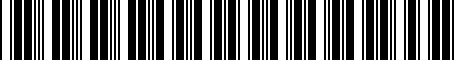 Barcode for 000998229A