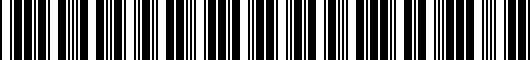 Barcode for 561072194HU3