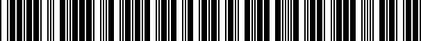 Barcode for CVC2SS98VW2134