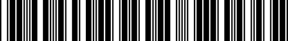 Barcode for JNV853751