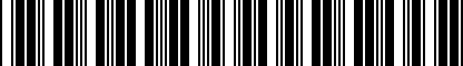 Barcode for ZVW312002