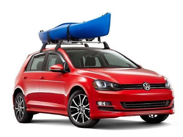Diagram Base Racks and Kayak Holder Attachment - 2dr (NPN071040) for your Volkswagen GTI