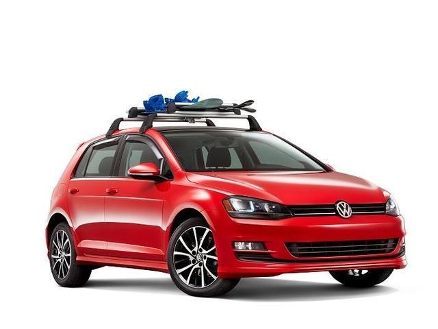 Diagram Base Racks and Snowboard/SKI Attachment - 2dr (NPN071039) for your Volkswagen GTI